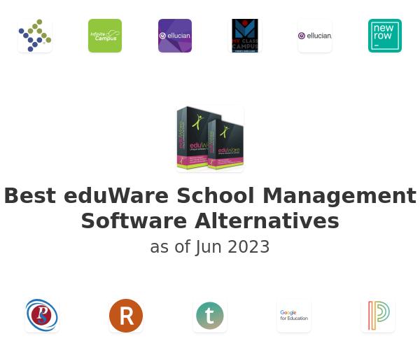 Best eduWare School Management Software Alternatives