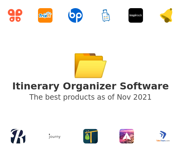 Itinerary Organizer Software