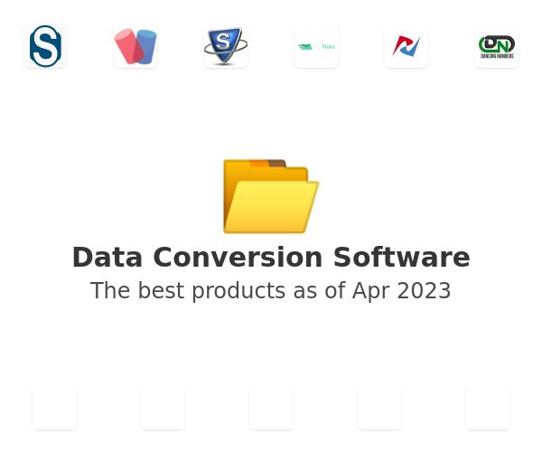 Data Conversion Software