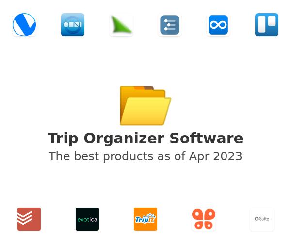 Trip Organizer Software