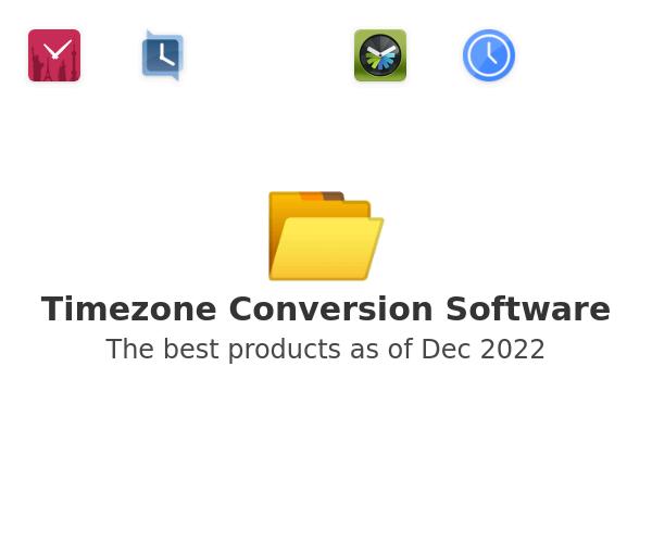 Timezone Conversion Software