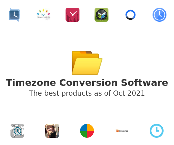 Timezone Conversion Software