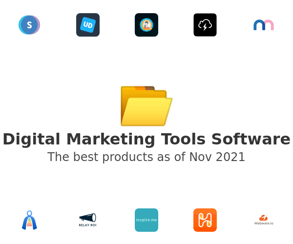Digital Marketing Tools Software