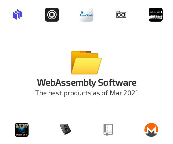 WebAssembly Software