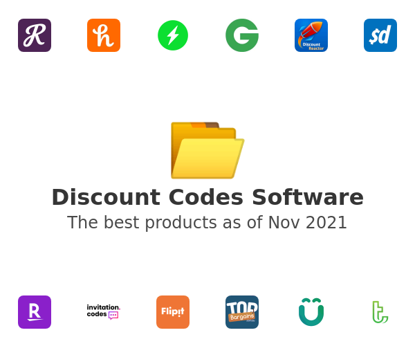 Discount Codes Software