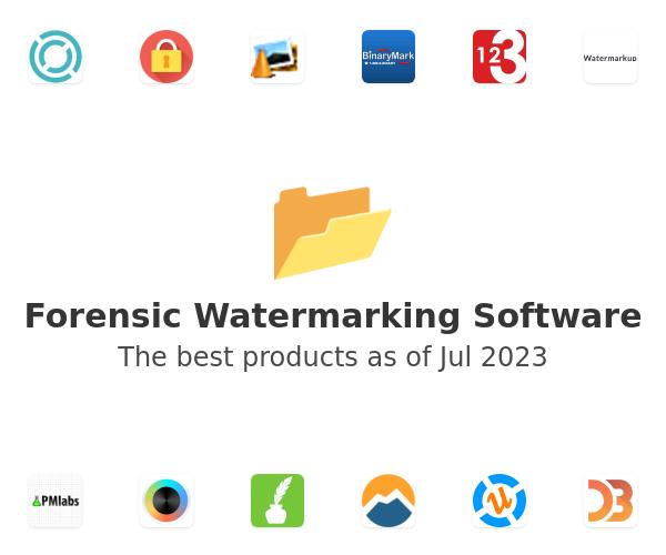 Forensic Watermarking Software