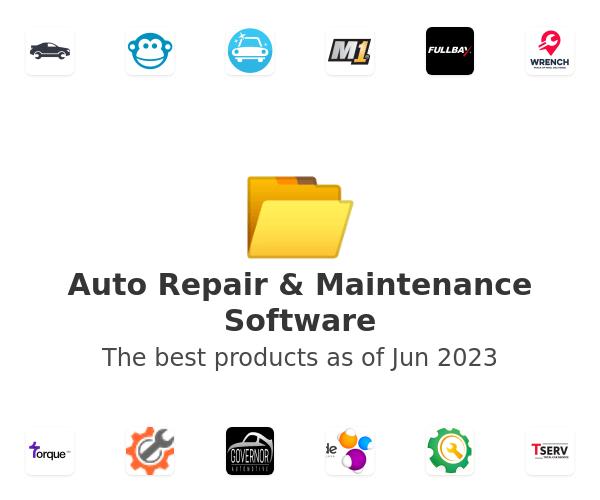 Auto Repair & Maintenance Software