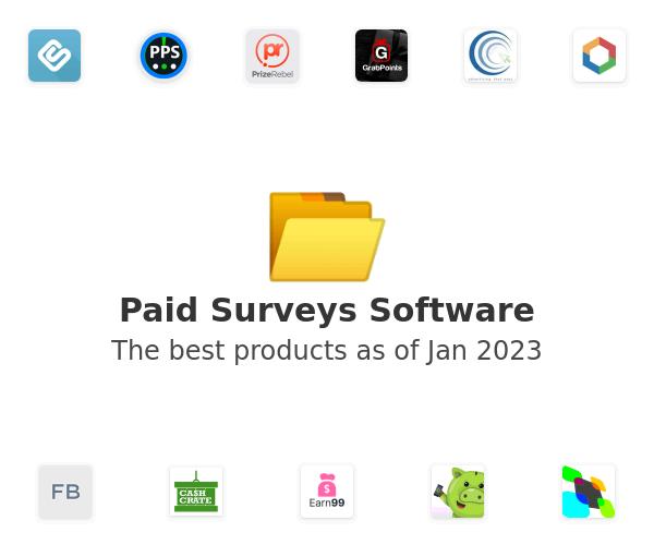 Paid Surveys Software
