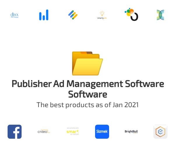 Publisher Ad Management Software Software