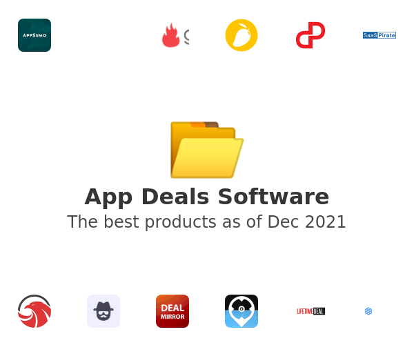App Deals Software