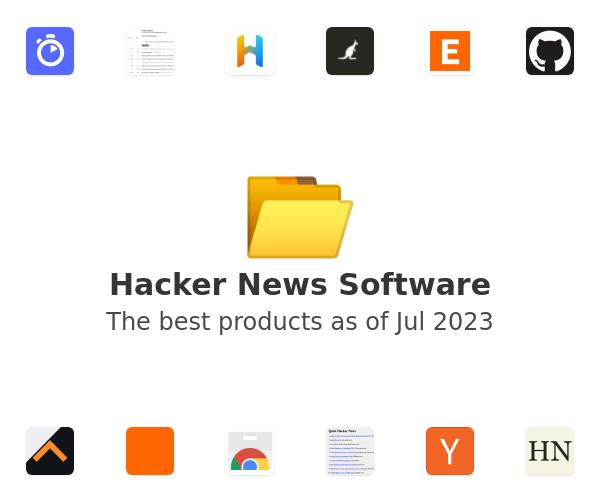 Hacker News Software