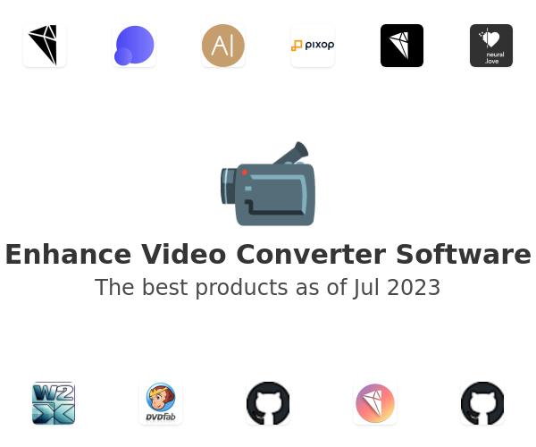 Enhance Video Converter Software