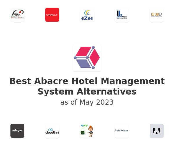 Best Abacre Hotel Management System Alternatives