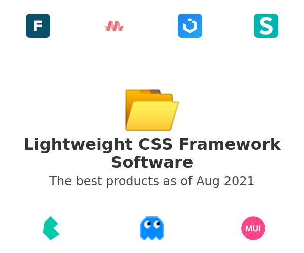 Lightweight CSS Framework Software