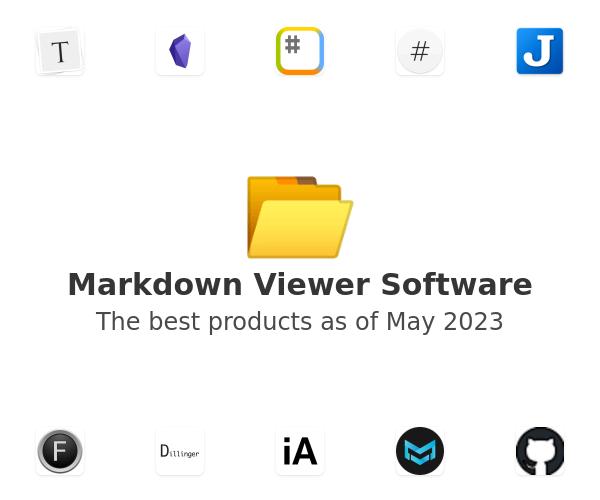 Markdown Viewer Software
