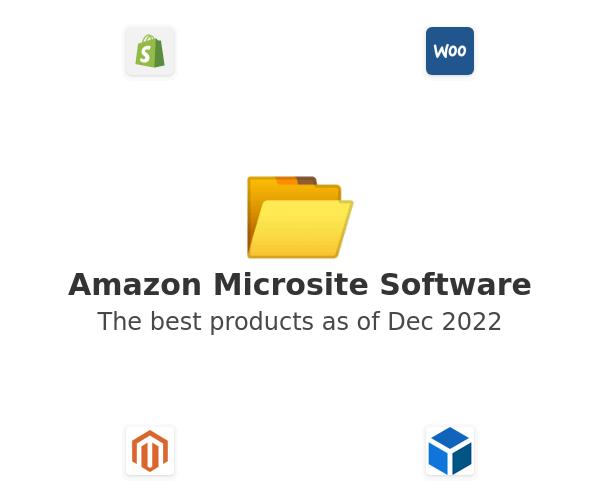 Amazon Microsite Software