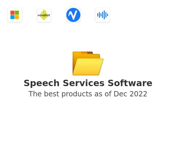 Speech Services Software