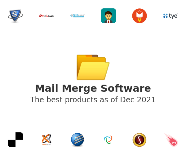 Mail Merge Software