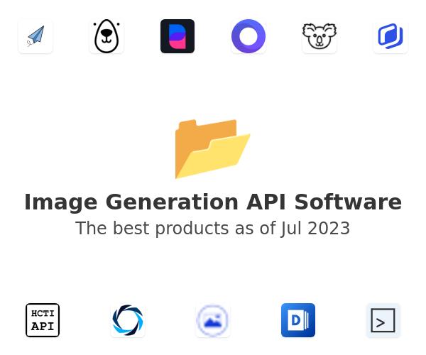 Image Generation API Software