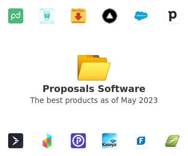 Proposals Software