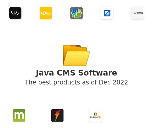 Java CMS Software