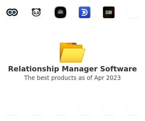 Relationship Manager Software