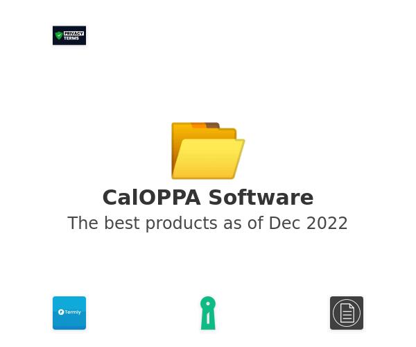 CalOPPA Software