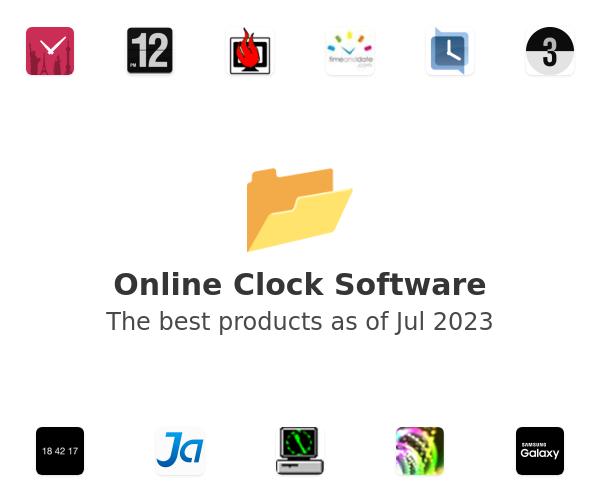Online Clock Software