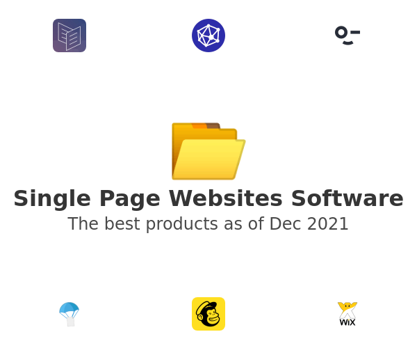 Single Page Websites Software