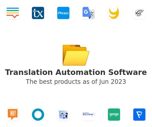 Translation Automation Software