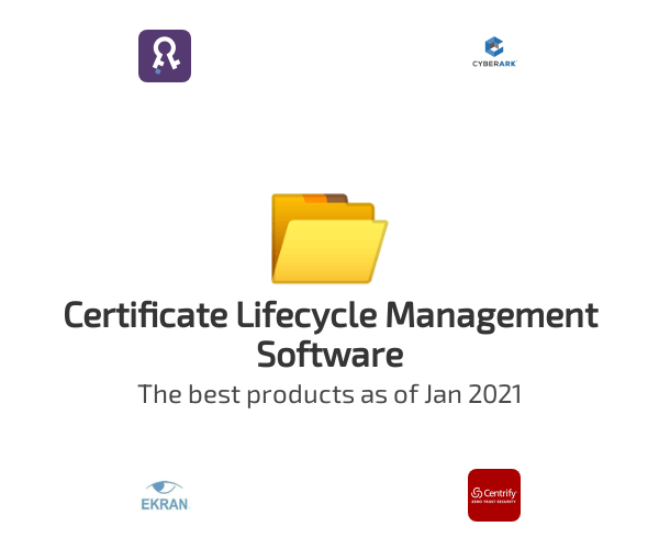 Certificate Lifecycle Management Software
