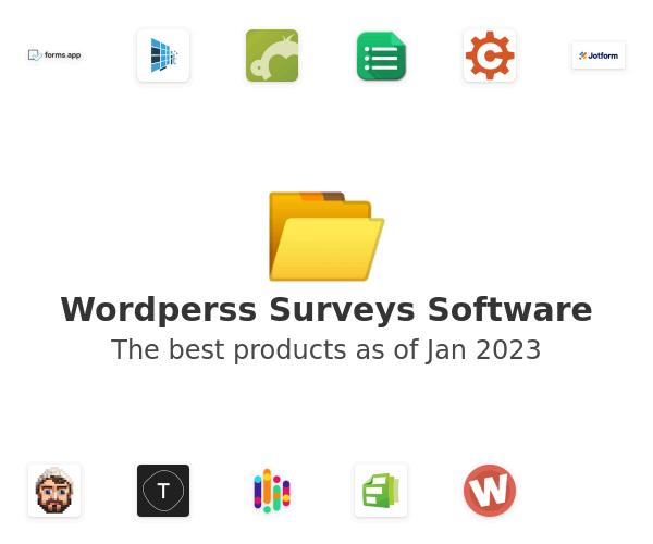 Wordperss Surveys Software