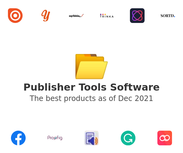 Publisher Tools Software