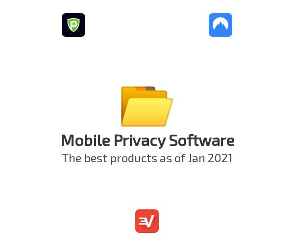 Mobile Privacy Software