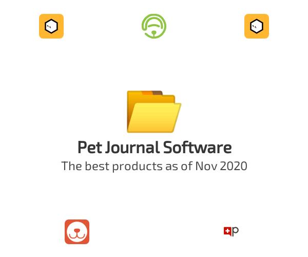 Pet Journal Software