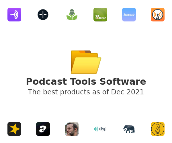 Podcast Tools Software