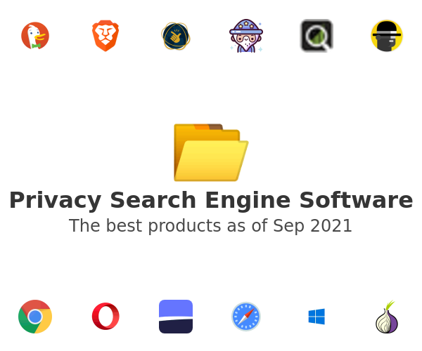 Privacy Search Engine Software