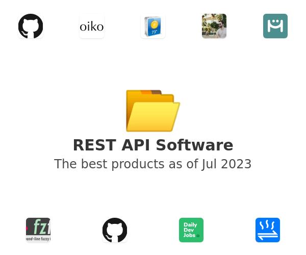 REST API Software