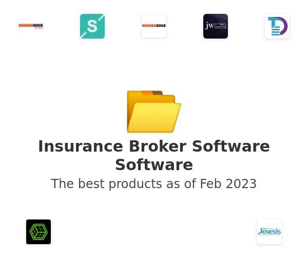 Insurance Broker Software Software