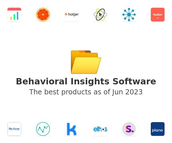 Behavioral Insights Software