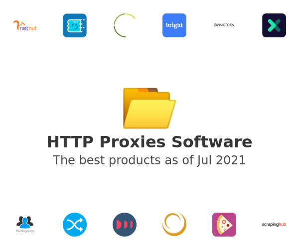 HTTP Proxies Software