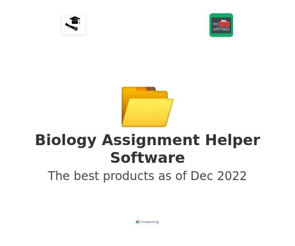 Biology Assignment Helper Software