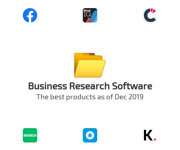 Business Research Software