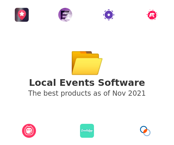Local Events Software