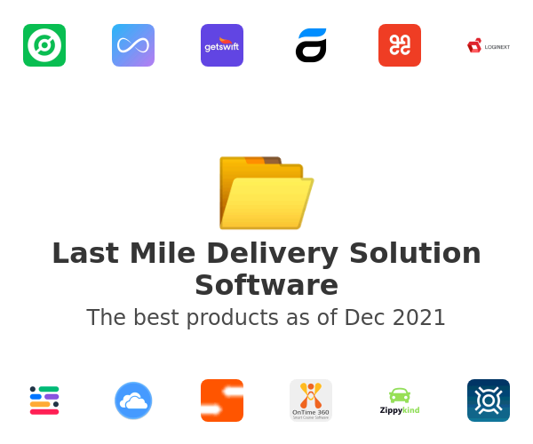 Last Mile Delivery Solution Software
