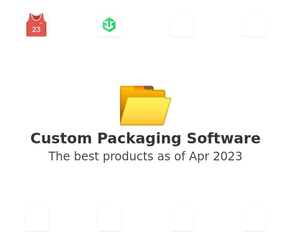 Custom Packaging Software