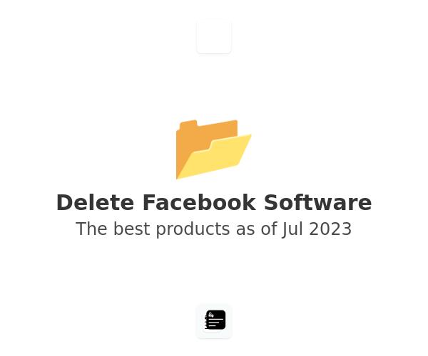 Delete Facebook Software