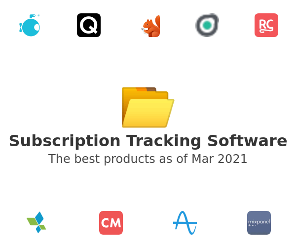 Subscription Tracking Software