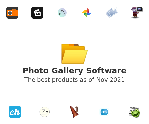 Photo Gallery Software