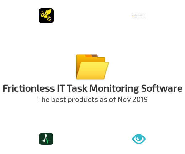 Frictionless IT Task Monitoring Software